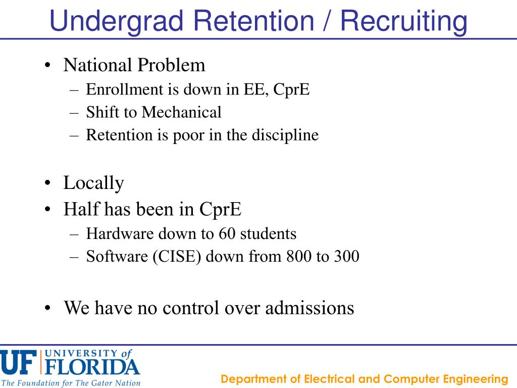 Undergrad Retention / Recruiting