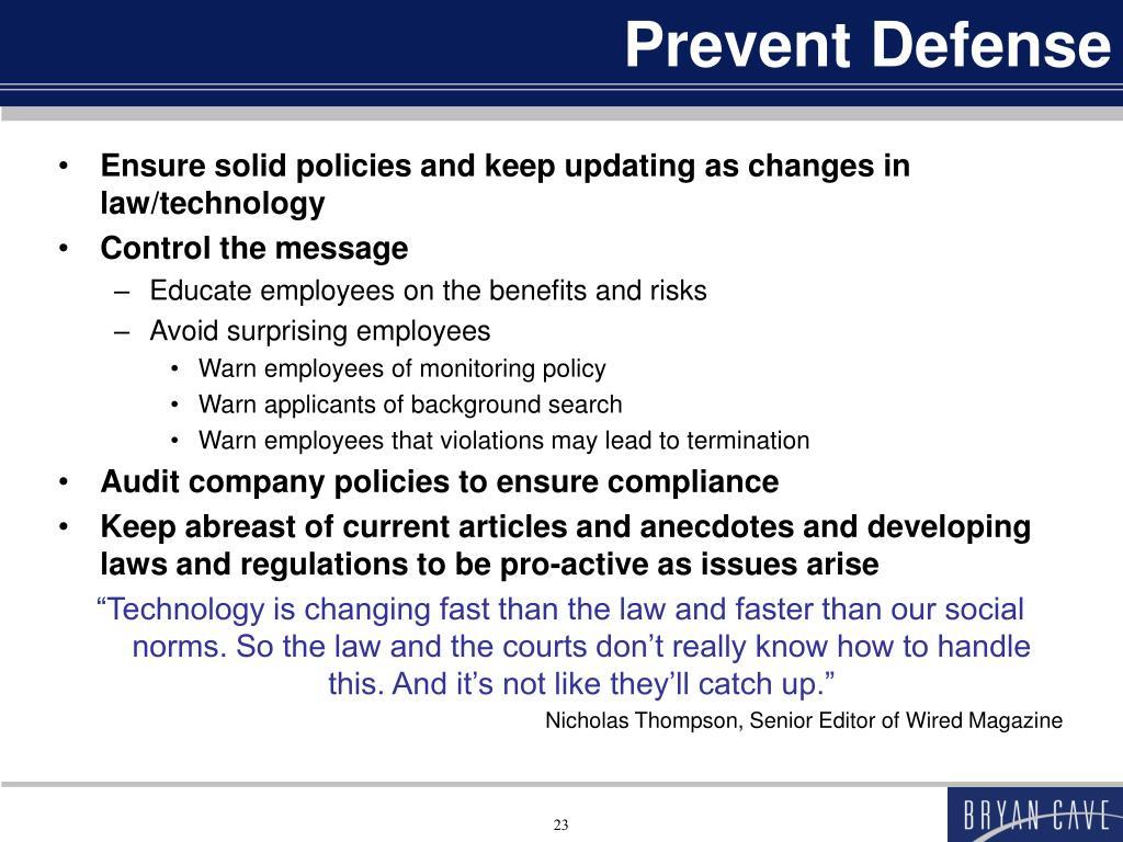 Prevent Defense