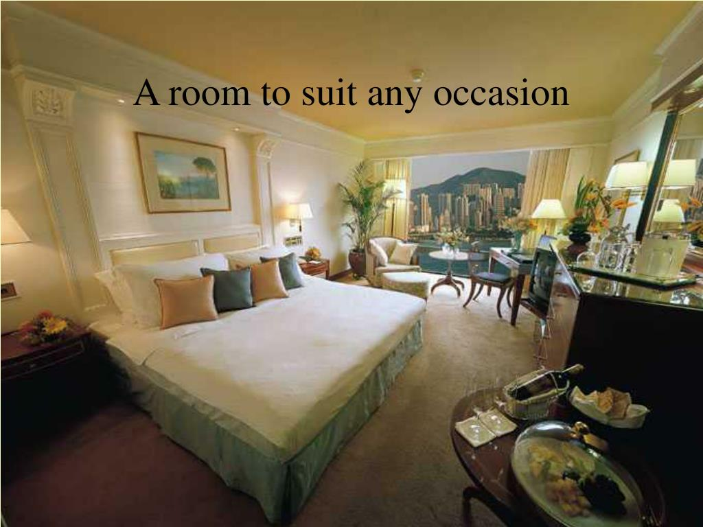 A room to suit any occasion