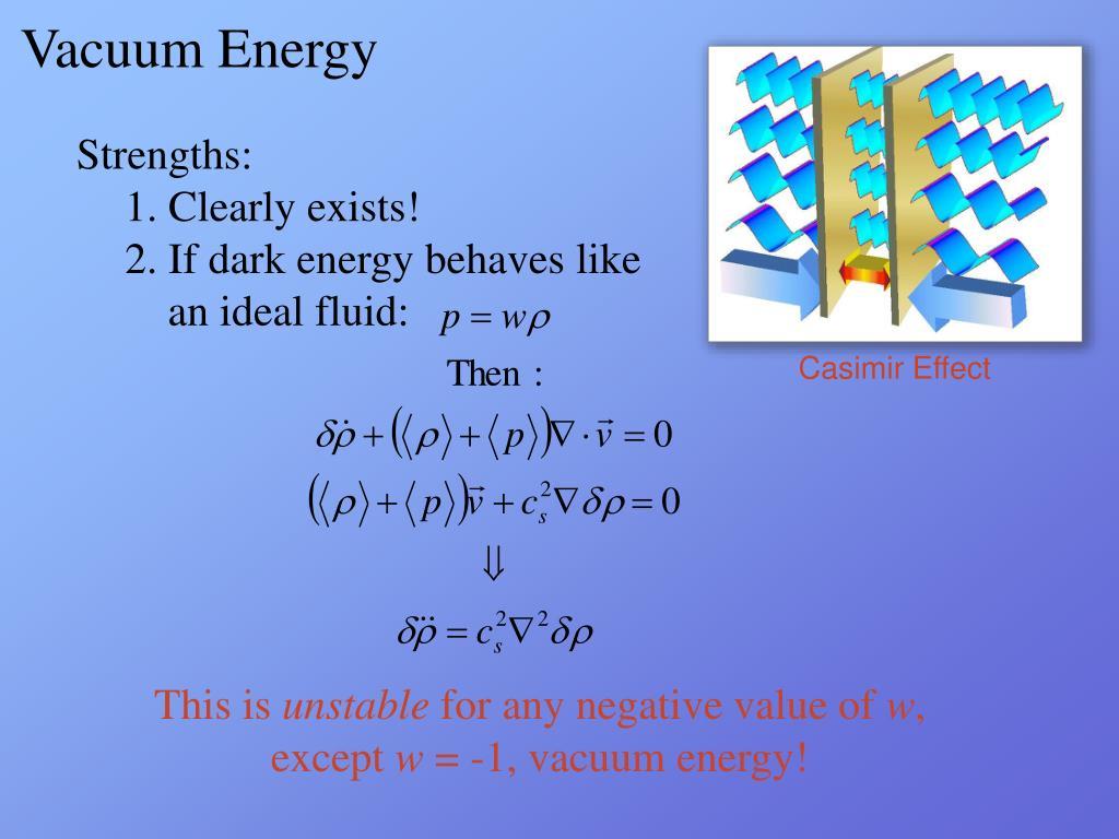 Vacuum Energy