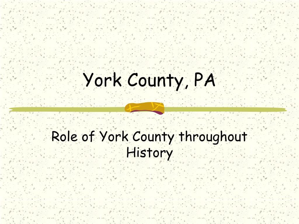 york county pa l.