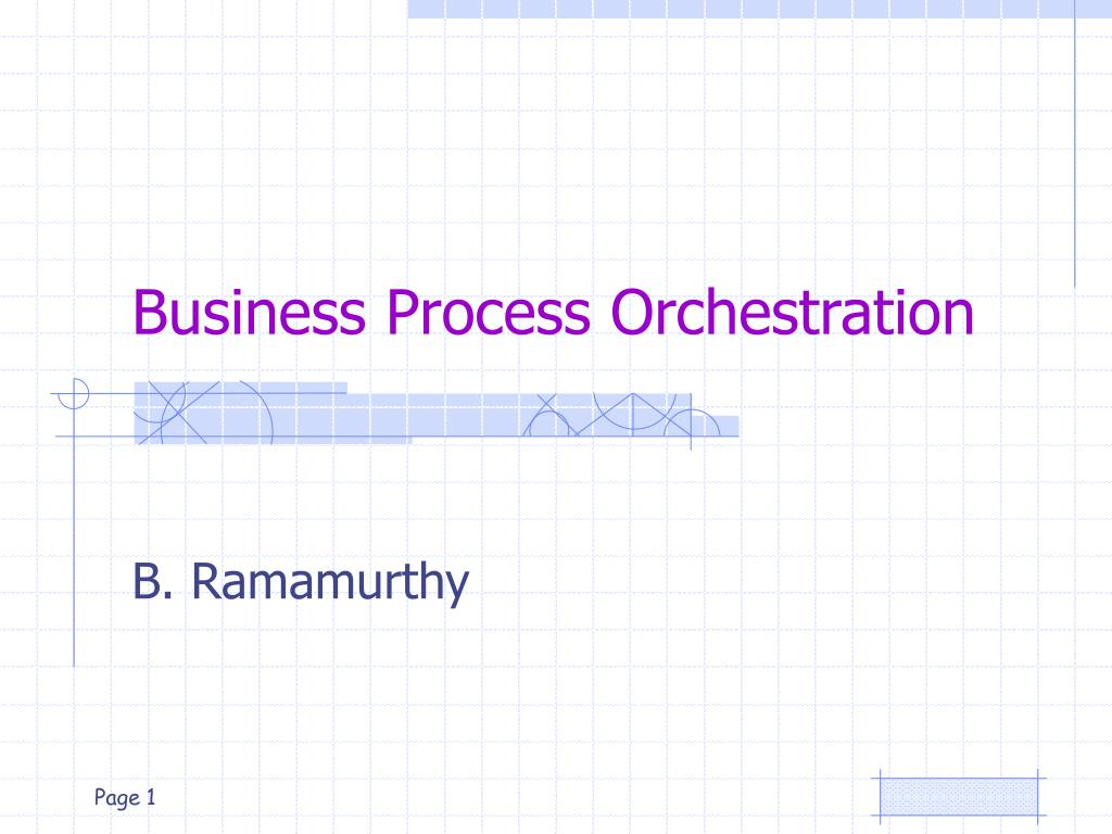 business process orchestration l.