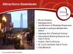 attractions downtown