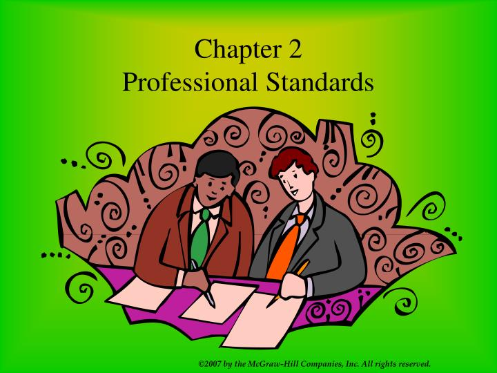 chapter 2 professional standards n.