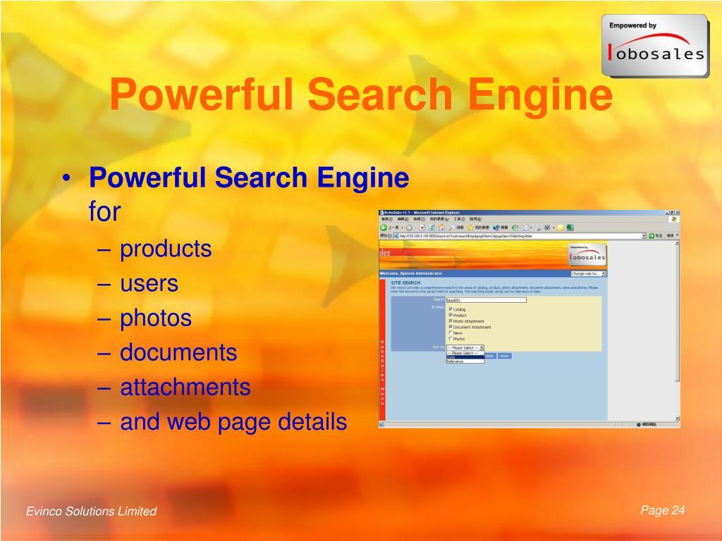 Powerful Search Engine