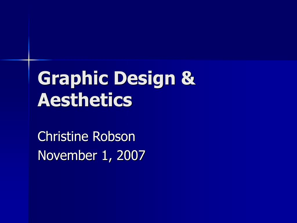 graphic design aesthetics l.