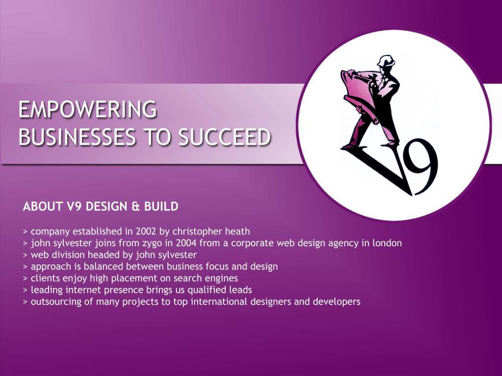 ABOUT V9 DESIGN & BUILD
