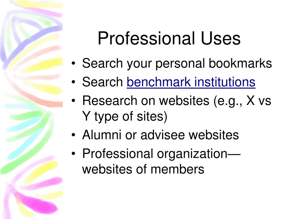 Professional Uses