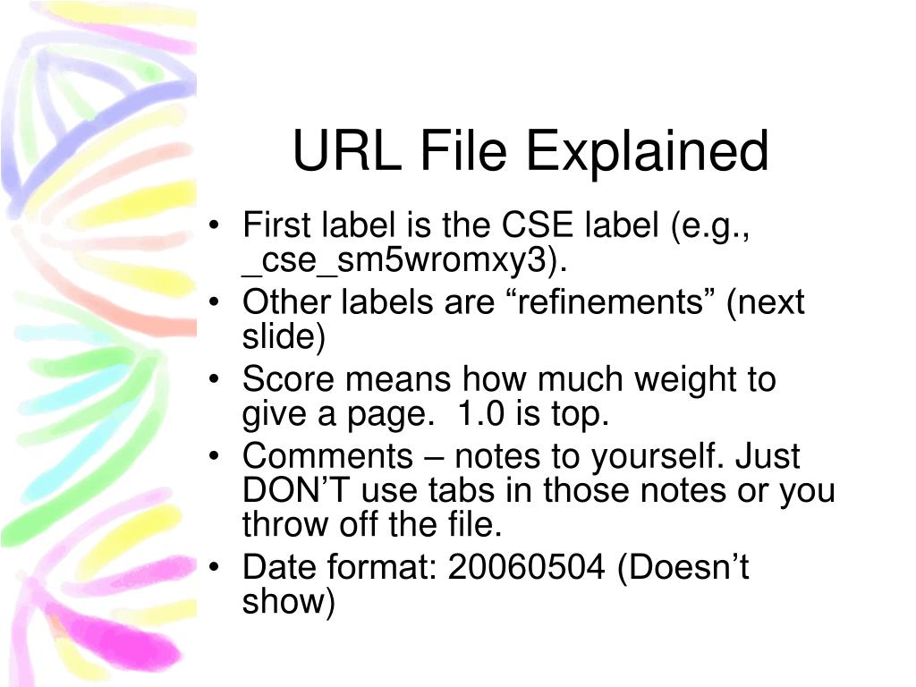 URL File Explained