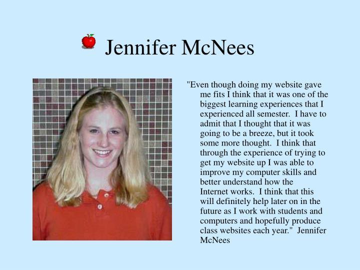 Jennifer mcnees