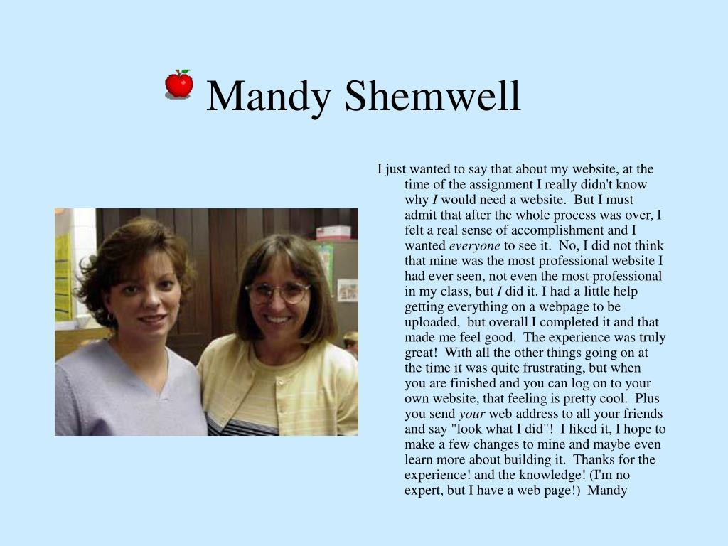Mandy Shemwell