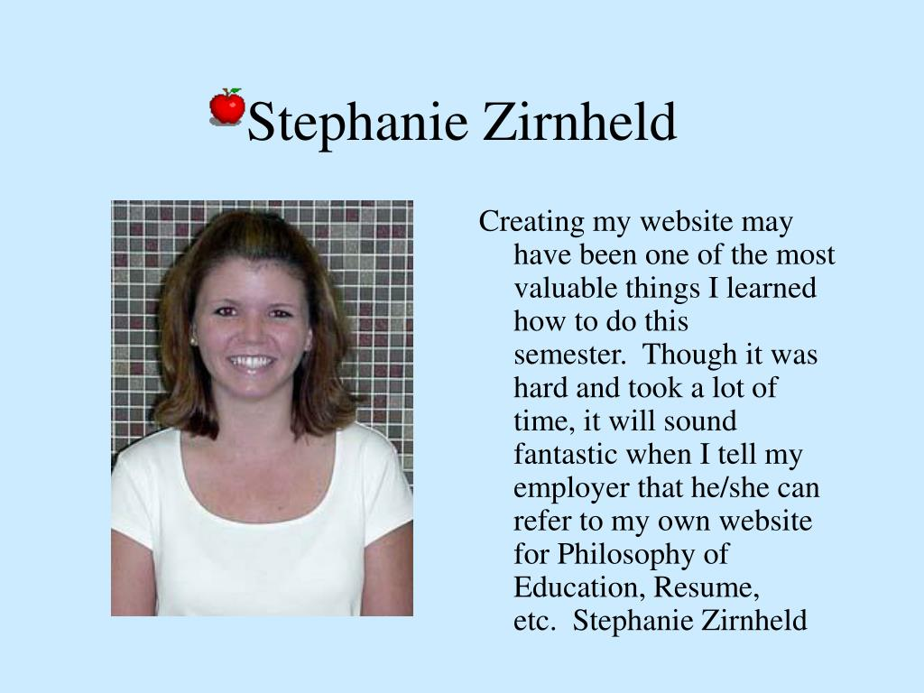 Stephanie Zirnheld