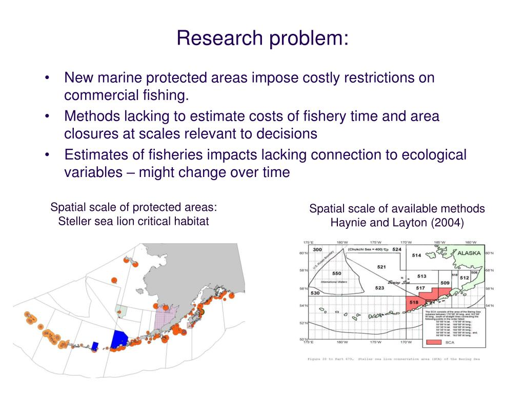 Spatial scale of protected areas: