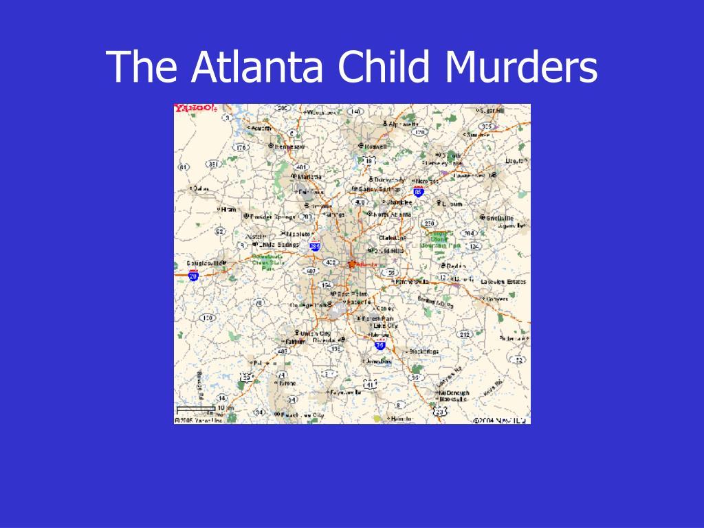 the atlanta child murders l.