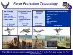 force protection technology