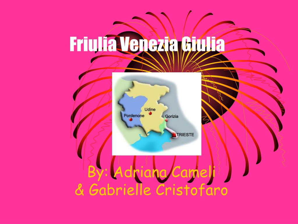 friulia venezia giulia l.