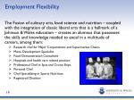 employment flexibility