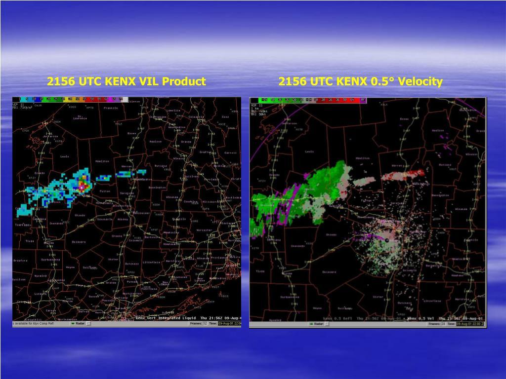 2156 UTC KENX VIL Product