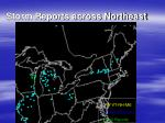 storm reports across northeast