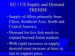 eu us supply and demand trends