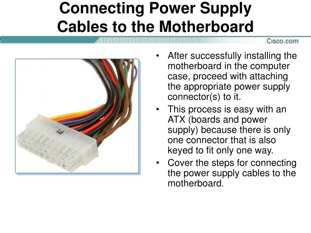 Connecting Power Supply