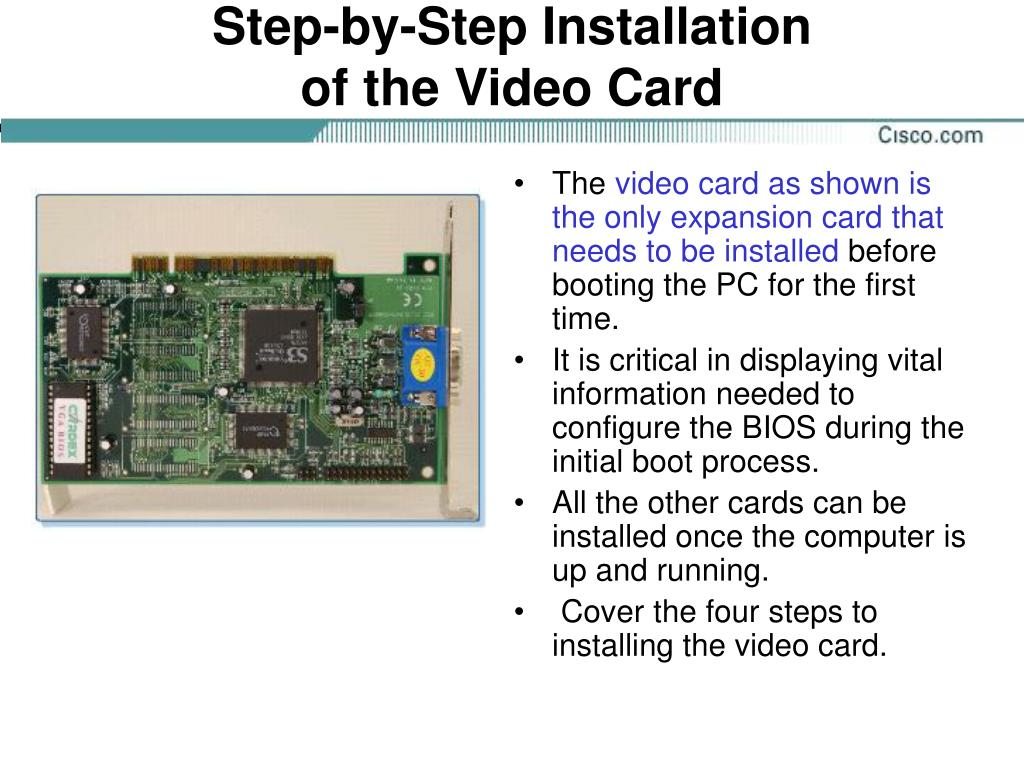 Step-by-Step Installation