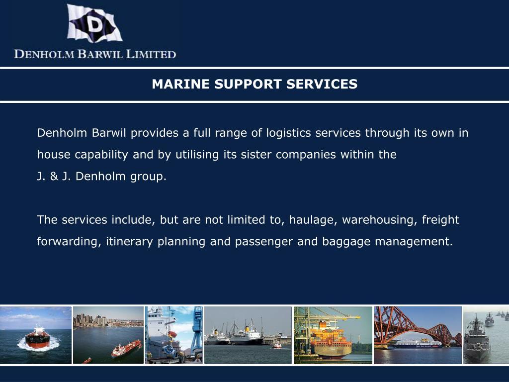 MARINE SUPPORT SERVICES