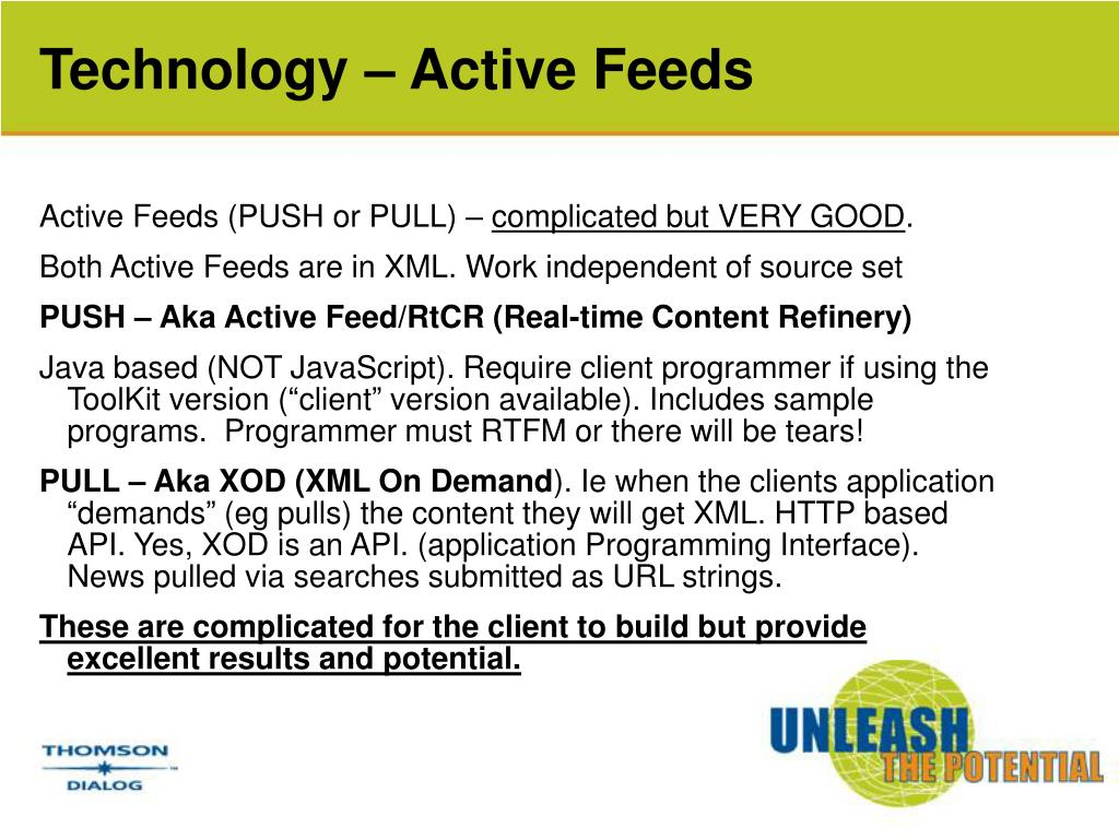 Technology – Active Feeds