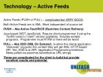 technology active feeds