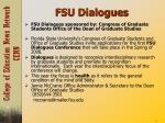 fsu dialogues