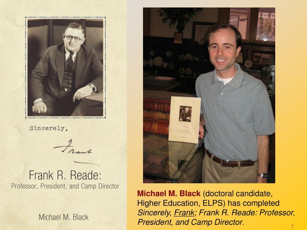 Michael M. Black