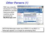 other parsers 1