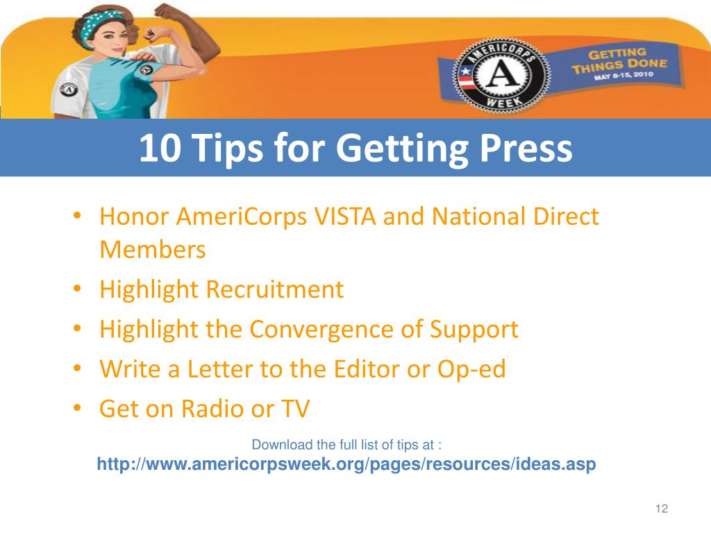 10 Tips for Getting Press