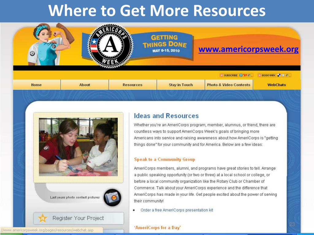 Where to Get More Resources