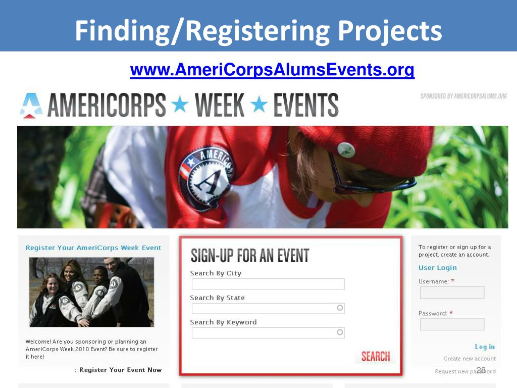 Finding/Registering Projects