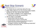 rest stop scenario