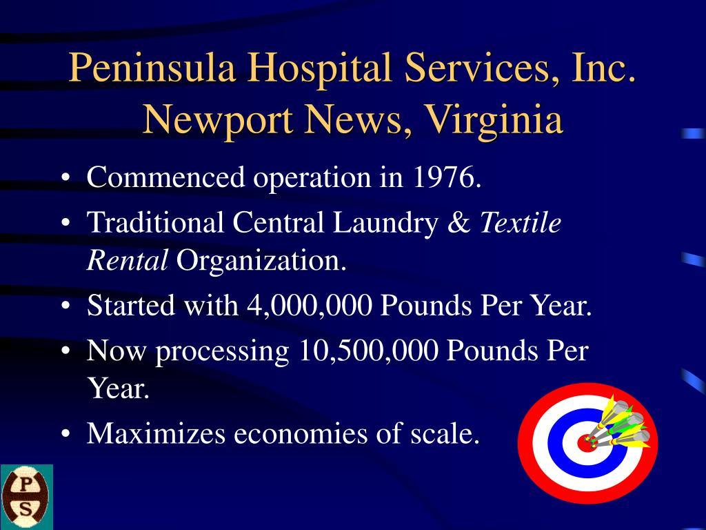 peninsula hospital services inc newport news virginia l.