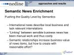semantic news enrichment