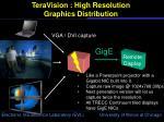 teravision high resolution graphics distribution