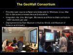 the geowall consortium