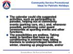 community service promotional ideas for patriotic holidays54