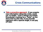 crisis communications41
