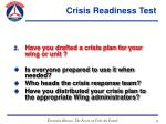 crisis readiness test43