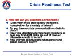 crisis readiness test44