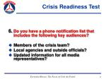 crisis readiness test47