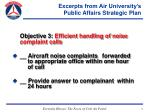 excerpts from air university s public affairs strategic plan11