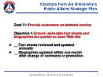 excerpts from air university s public affairs strategic plan15