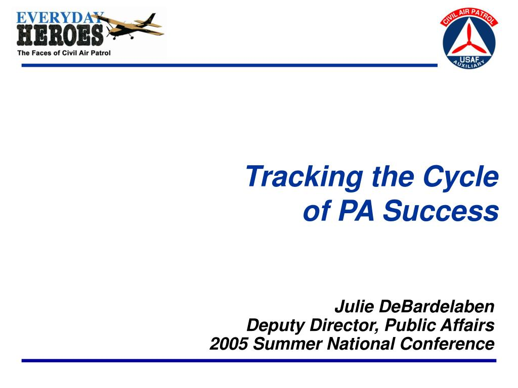 tracking the cycle of pa success l.