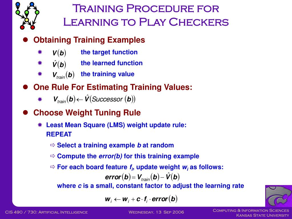 Training Procedure for