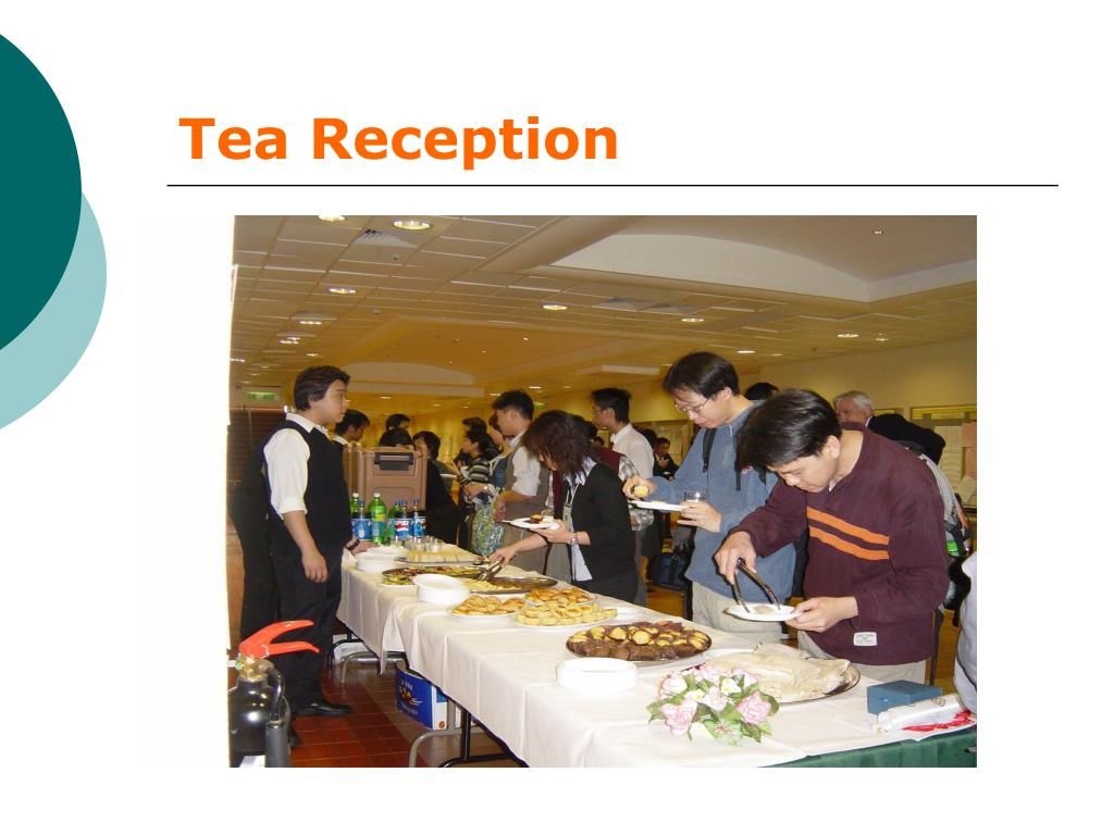 Tea Reception